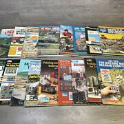 Lot Of 17 Vtg Ho Scale Model Railroad Books Planning Structures Wiring Layout