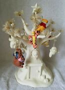 Dept 56 Snowbabies Disney A Very Pooh Christmas Tree With Ornnaments 2006