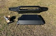 Westin Textured Black Steel Outlaw Front Off-road Bumper/skid Plate Newer Trucks