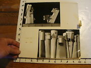 Vintage Marionette Photo, Abstract 2 Photos Yves Joly French Minimilist Master