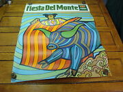 Vintage 1969 Fiesta Del Monte Poster, A Bit Hippy, Fun And Cool 5