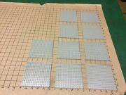 Lego Base Plates 10 All Early Gray With 16 X16 Bumps Or 5 X 5
