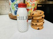 The Pioneer Woman Cookie And Milk Salt And Pepper Set Rare Htf