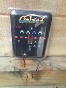 Galaga Arcade Game Light Switch Cover Sign Look Video Pinball