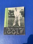 Antique Walter Hagen Golf Instruction Booklet L.a. Young Golf Co Pga Ryder Cup