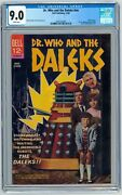 Dr Who And The Daleks Cgc 9.0 Dell Movie Classic 1966 1st U.s. Appearance Doctor