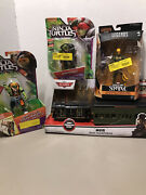 Sealed Toy Lot For Parts 2 Tmnt, Disney Transporter Train, Legends Iron Fist