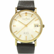 Ulysse Nardin Brilliant Solid Gold Automatic Watch K18yg Gold 0023 Menand039s