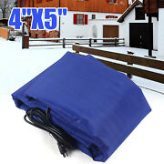 Electric Thawing Blanket Concrete Curing Blanket Finished Dimensions 4and039 X 5 Usa