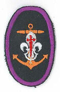 Scouts Of Spain / Espania - Sea Scout Commissioner Highest Top Rank Hat Badge