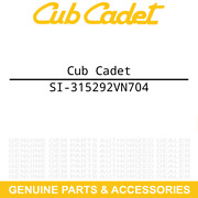 Cub Cadet Si-315292vn704 Seat Back Cover 757 05748 Ztx6 Ultima 48 54 60 Fab