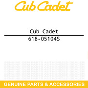 Cub Cadet 618-05104s Gearbox Assembly Trimmer Plus Br720 Power Broom Attachments