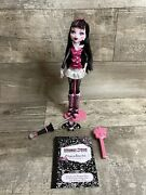 Monster High Draculaura Doll First Wave Loose Complete With Accessories Nice