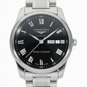 Longines Master Collection L2.910.4.51.6 New Watch Annual Calendar St.steel