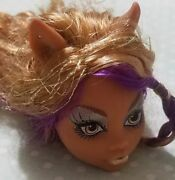 Monster High Doll 13 Wishes Clawdeen Wolf Head Only For Replacement Or Ooak