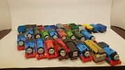 Thomas And Friends Trackmaster Lot Of 30 Motorized Engines And Cars Read Working