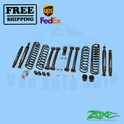 Suspension Lift Kit Zone 4 F And R For Jeep Grand Cherokee Zj 4wd Gas 1993-1998