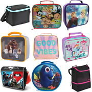 Insulated Lunch Bag And Coolbag - Adults And Kids - Work School Food Storage