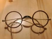 Round Antique Eyeglasses Spectacles Approximately 1900-1910