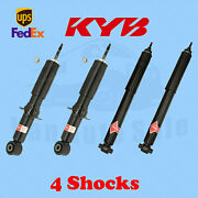 Kyb Front And Rear Gas-a-just Strut And Shocks For 2003-11 Lincoln Town Car Kit 4