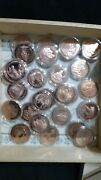 Lot Of Franklin Mint History Of The United States Bronze Medals Rare