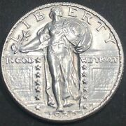 United States 1930 Fh Standing Liberty Silver Quarter