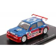 Scale Model Compatible With Renault 5 Maxi Turbo Superproduction N.5 1987 Jean L