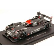 Scale Model Compatible With Nissan Gt-r N.23 24h Le Mans 2015 Test Car 143 Ebbr