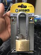 Brinks 671-50061 Home Security Commercial 50mm Brass Solid Body Lock With