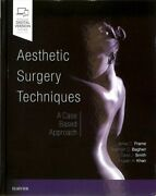 Aesthetic Surgery Techniques A Case-based Approach Hardcover By Frame Jam...