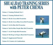 Shuai Jiao Chinese Wrestling Series 10 Dvd Set Grappling Counters Combinations