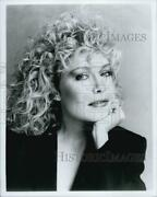 1987 Press Photo Cassie Yates, American Actress Know For Her Performance In Tv.
