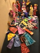Andnbspvintage To Now Mattel Barbie Collection 14 Dolls Clothes Kenand039s Too 157 Pieces