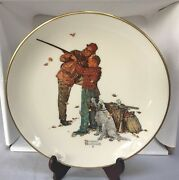 Norman Rockwell Four Seasons Plates 1980 Limited Addition W/boxes