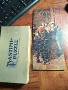 1930's Vintage Wooden Jigsaw Pastime Puzzle Parker Brothers - Complete