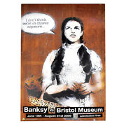 Banksy Vs. Bristol Museum Rare Dorothy Exhibition Poster Pictures On Walls Pow