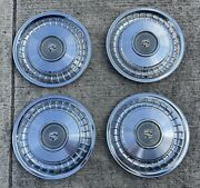 Old Cadillac Hubcaps 15 Inch 1976 Fleetwood