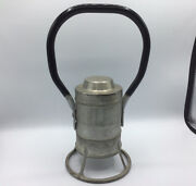 Vintage Adlake Railroad Hand Held Signal Lantern No. 31-d Battery Operated