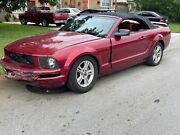 2005 Ford Mustang Mustang Convertible Manual Transmission  Leather Premium