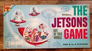 1962 The Jetsons Hanna Barbera Orig.transogram Out Of This World Board Game
