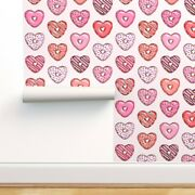 Wallpaper Roll Heart Valentines Donuts Sweets Treat Love Baby Girl 24in X 27ft