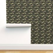Wallpaper Roll Camouflage Military Army Soldier Uniform Camo Green 24in X 27ft