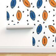 Wallpaper Roll Football American College Uf Blue And Orange Sports 24in X 27ft