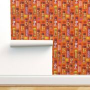 Wallpaper Roll Thermos Coffee Hot Chocolate Retro 1970 24in X 27ft