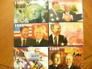 6 United States Special Mint Sets 1984 1985 1986 1987 1988 1989 1 Price