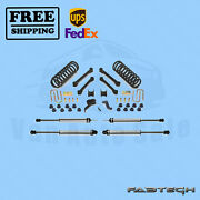 4.5 Performance Syst W/ Ss Shocks Fabtech For Dodge 3500 4wd Diesel Only 03-08