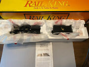 Mth Railking 30-1141-1 Jersey Central 4-6-0 Camelback Steam Loco And Tender. U95
