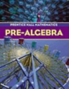 Pre-algebra By Prentice Hall Directories Staff And Randall I. Charles 2003,...