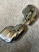 1940 Ford Original Deluxe Bumper End Wings - Pair=nos