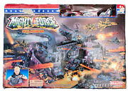 Realtoy Mighty Force Skull Mountain Playset 2727 Military Series Die Cast Rare